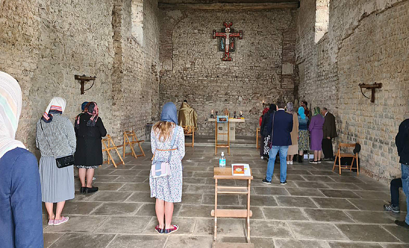 Photo of Bradwell Chapel